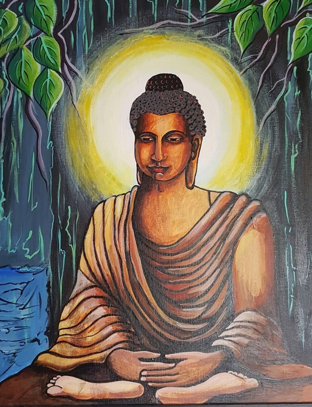 The Meditating Budhha