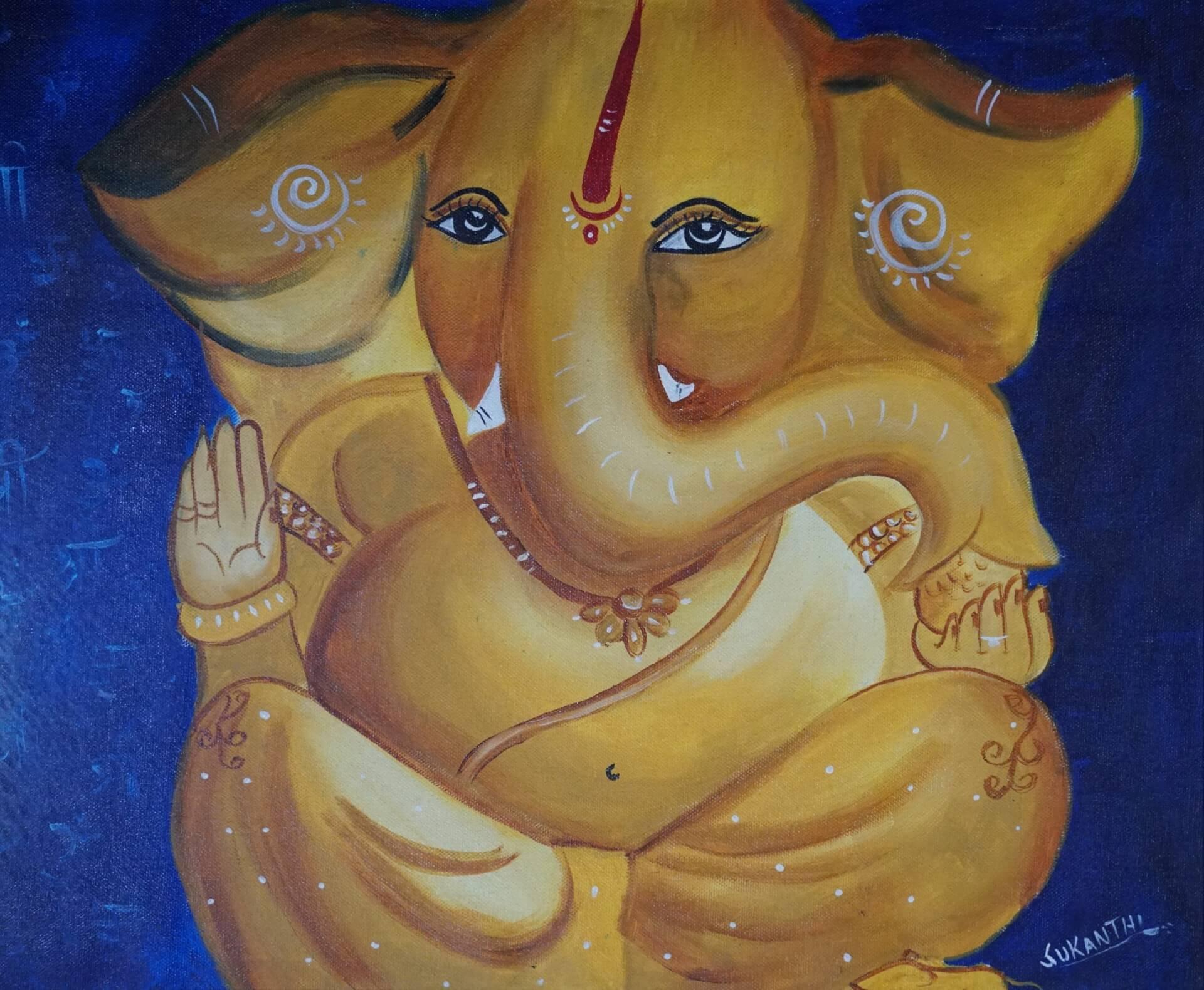 Blessings Of Ganesh Ji