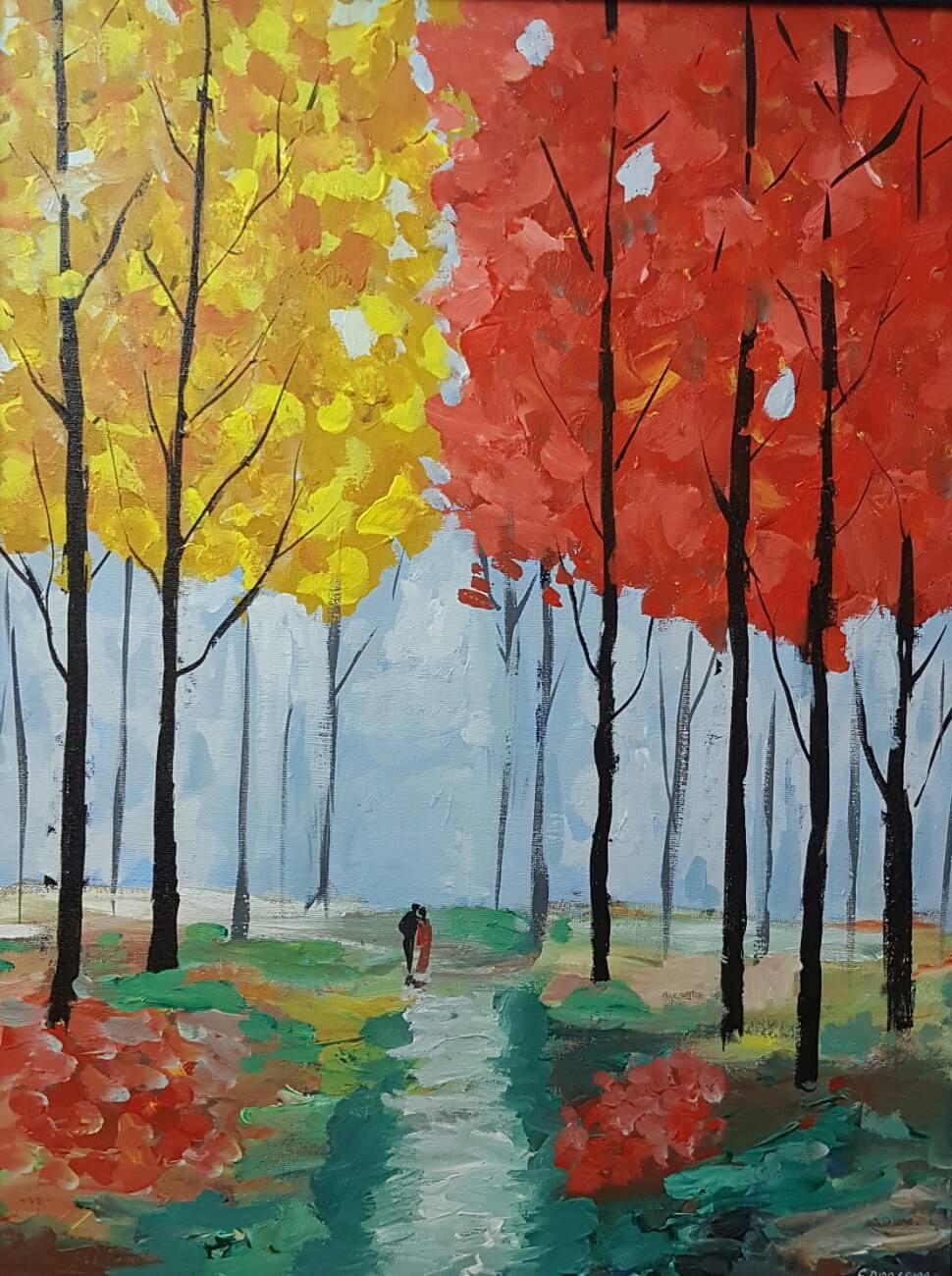 Romance Among The Trees